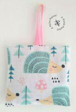 Lavender Bag / Sachet Handmade Gift Present Hedgehogs Cotton