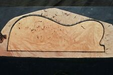 "AWESOME MAPLE BURL 20 1/4"" X 8 3/4"" X 2 1/2"": GUITAR, LUTHIER, CRAFT, SCALES"
