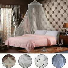 Net Canopy Bed Curtain Dome Mosquito Insect Stopping Double Single Queen AU