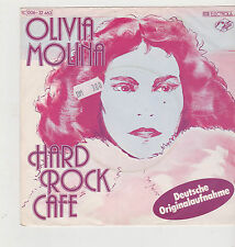 "7"" Olivia Molina HARD ROCK CAFE EMI Angelo 006-32463 il piccolo soldato 1977"