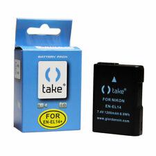 Take TK-EN-EL14C Batteria Li-Ion 1200mah Compatibile Sostituisce Nikon EN-EL14,