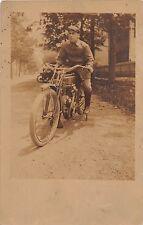 c.1910 RPPC Thor ? Motorcycle