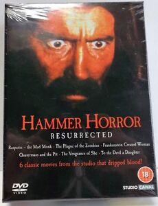 Hammer Horror Resurrected (DVD, 6-Disc Box Set)