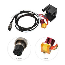 CR-10 Extruder Kit wIth 0.4mm Output Nozzle Double Fans Cover Air Connection