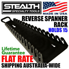 STEALTH SPECIALTY TOOLS Reverse Spanner Rack Gripper Tool Organiser Wrench