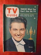 LIBERACE I Love Lucy Gale Storm TV GUIDE February 26-March 4 1954 Chicago