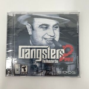 Gangsters 2 The Mobster Sim PC Game CD-ROM Jewel Case Disc Eidos 2001