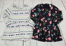 Girls Winter Dresses x2 Size 3 Long Sleeved Target Emerson
