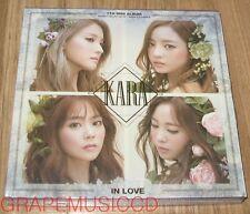 KARA IN LOVE 7TH MINI ALBUM K-POP CD + PHOTOBOOK SEALED