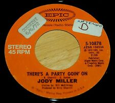 Jody Miller 45 There's A Party Going On  PROMO