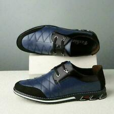 Big sz 39-48 Mens Driving Moccasins Casual Shoes Lace Up Loafers Leather Shoes