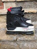 K2 UFS Varsity RollerBlades Aggressive Inline Skates 50/50 Frames MENS SIZE 7