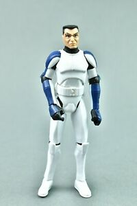 "Star Wars Clone Wars CLONE TROOPER DENAL 3.75"" Hasbro"