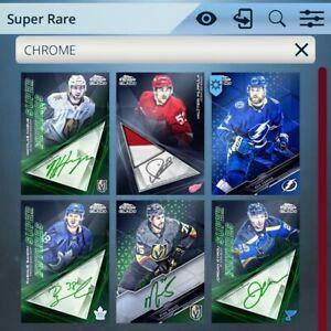2021 Topps Skate Black Chrome Super Rare Lot of 6 Inserts *Digital Cards*