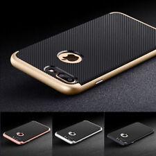 Hybrid Full Cover für iPhone 7 6s Plus Handy Schutz Hülle Bumper Case Glas 9H