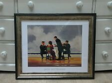 Elegy For The Dead Admiral Jack Vettriano Large Deluxe Framed Art Print Romantic