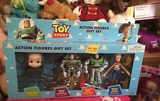 Disney Pixar  Toy Story Action Figures Gift Set Baby Face, Buzz, Woody 1996