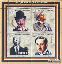Mosambik 2520-2523 Velletje postfris MNH 2002 Persoonlijkheden