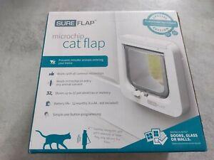 SureFlap Microchip Cat Flap White New