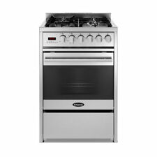 Britannia Stainless Steel Dual Fuel Home Cookers