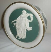 """8"""" Round Tin WEDGEWOOD Reproduction - THE SPIRIT OF DANCE - Ward Foods, Inc."""
