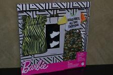 BRAND BARBIE DOLL FASHIONISTAS CLOTHES 2 FASHIONS PACK