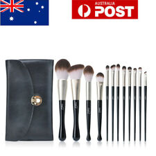 Luxury 12Pcs Mermaids Makeup Brushes Set  Powder Foundation Eyeshadow Brush MSQ
