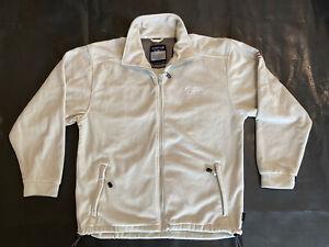 Mens REGATTA Lightweight Full Zip Fleece Layering Jacket Size UK M Cream