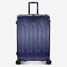 "Bell Weather 29"" Checked Hardside Expandable Metallic Spinner TSA Lock Luggage"