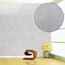 10m MURIVA Sparkling Silver Glitter Plain Feature Wallpaper Glamour Glitz BDK Nr