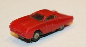 Vintage Marx HO Slot Car Thunderbird T-Bird Red