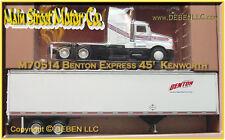 BENTON EXPRESS KENWORTH-45ft T/T PEM / TONKIN / HARTOY NIB / NOS NIP Sn3/1;64