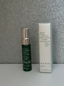 2 × Kat Burki Form Control Collagen Gel 5ml, Vitamin C Intensive face cream 10ml