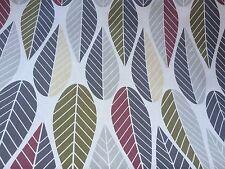 Scandi 100% Cotton fabric Scandnavian design Retro Grey/green 150 cm wide