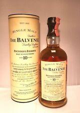 THE BALVENIE FOUNDER'S RESERVE 10 Y.O. SINGLE MALT SCOTCH WHISKY (VINTAGE O.B.)