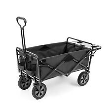 New Folding Sports Beach Cart Wagon with Collapsible Table Utility Mac Supplies