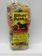 2x 250g bunte Motiv-Nudeln,Biker,Kinder-Geburtstag,Pasta,Party,Motorrad