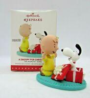 Hallmark Keepsake Ornament - 2015 A Snoopy FOR CHRISTMAS - The Peanuts Gang NIB