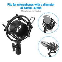 Universal Mic Microphone Shock Mount Clip Holder Studio Sound Recording USA
