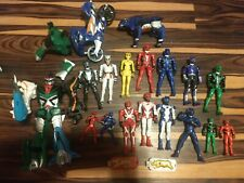 Power Rangers Jungle Fury Beast Master Megazord And Figure Lot