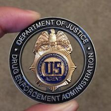 DEA Drug Enforcement Administration Task Force Officer Challenge Coin Authentic
