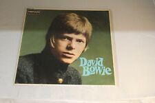 David Bowie FIRST M/EX+ Debut UK Deram DML1007 original LP stereo 1967 RARE