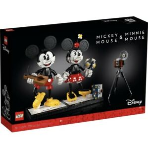 LEGO 43179 Mickey Mouse & Minnie Mouse Buildable Characters - 1739pcs