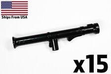 LEGO Guns Bazooka Rocket Launcher WWII Army Military Weapon x15