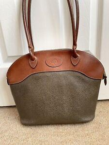 MULBERRY Tetbury Scotchgrain Brown/Mole Shoulder Bag ***GREAT***