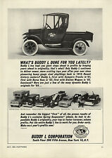 1964 PAPER AD Buddy L Toy 1912 Truck New Camper US Army Car Miss Peep Cameo Doll