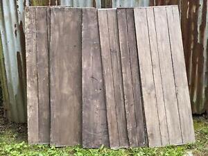 Holz Bretter Schalungsbretter 6 St. 150 x 50 x 2 cm Schaltafeln Kantenschutz