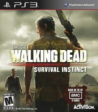 The Walking Dead Survival Instinct PS3 -Game Disc Only -  LN