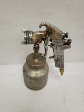 Vintage Devilbiss Type Jga-502 Paint Spray Gun With Canister 12/L3513A