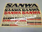 Sanwa Sticker Sheet 7x10
